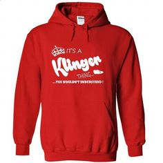 Its a Klinger Thing, You Wouldnt Understand !! Name, Ho - #black shirt #cool tshirt. BUY NOW => https://www.sunfrog.com/Names/Its-a-Klinger-Thing-You-Wouldnt-Understand-Name-Hoodie-t-shirt-hoodies-5259-Red-39324097-Hoodie.html?68278