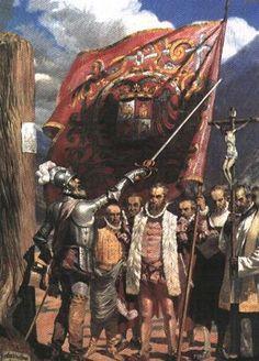 Francisco Pizarro, Diego Almagro y pedrio de valvidia llegaron al norte 500 anos despues para apoderarse de america del norte.