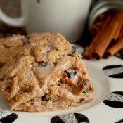 Cinnamon Chocolate Chip Scones Recipe - Dense and moist, scones make for a delicious breakfast recipe.