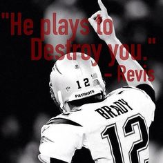 Wonder if Revis ever thought he'd not only be a Patriot, but a champion with the Patriots??