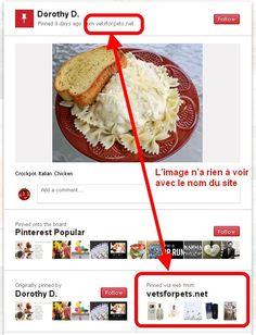 Comment Détecter Les Spams Et Les Spammeurs sur #Pinterest >> Un article à lire sur le blog de Tomate Joyeuse http://tomatejoyeuse.blogspot.com/2012/04/pinterest-comment-detecter-les-spams-et.html