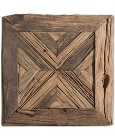 The Rennick Reclaimed Wood Wall Art will add a rustic personality to your home. Made with reclaimed pine wood, this wall art brings a unique high-style design to any room.