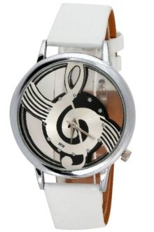 Musical Note Pattern #Watch #zaful