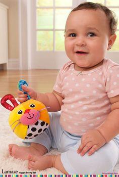 Baby Handbells Musical Developmental Bed Bells Children Toys Three-color Ball WT