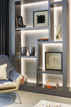 natural home design Living Room Tv, Living Room Interior, Home Interior Design, Home And Living, Room Partition Designs, Flur Design, Home Decor Furniture, Concrete Furniture, Living Room Designs
