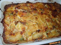 Francouské brambory s hlívou ústřičnou