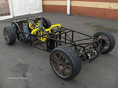 Typical sports car chassis