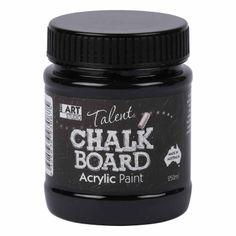 ART STUDIO Talent Chalk Board paint 250ml Black