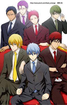 Kuroko no basket generation of miracles plus Kagami Midorima Shintarou, Kise Ryouta, Ryota Kise, Kuroko No Basket, Kurokos Basketball, Kagami Kuroko, Kiseki No Sedai, Akakuro, Handsome Anime Guys
