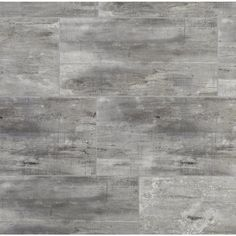NuCore Rustic Gray Grouted Style Tile with Cork Back - 6.5mm - 100376896   Floor and Decor