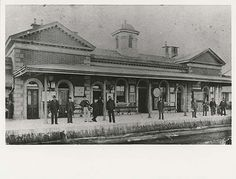 Railway Station - Goulburn 1870 (State Records NSW, via Flickr)