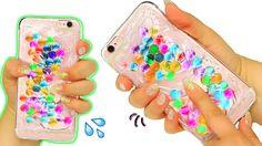 DIY Liquid Orbeez Phone Case! Squishy Liquid Orbeez Phone Case! - YouTube