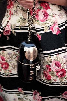 Russian doll Chanel bag.