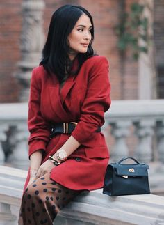 Heart Evangelista Style, Asian Style, Work Casual, Daily Fashion, Winter Outfits, Celebrity Style, Best Gifts, Winter Fashion, Street Style