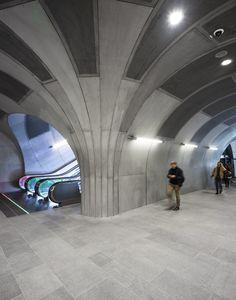 Gallery of Løren Metro Station / Arne Henriksen Arkitekter + MDH Arkitekter - 12