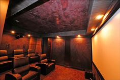 Family, theater room, movie room