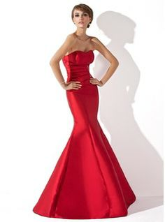 Special Occasion Dresses - $138.99 - Mermaid Sweetheart Floor-Length Taffeta Evening Dress With Ruffle Beading  http://www.dressfirst.com/Mermaid-Sweetheart-Floor-Length-Taffeta-Evening-Dress-With-Ruffle-Beading-017013777-g13777