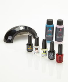 Gel Polish Pro Kit-- I have this and it has literally saved me hundreds on shellac at nail salons. this kit is $80 at Ulta but well worth it!