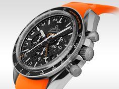OMEGA Watches: Speedmaster - The Speedmaster HB-SIA GMT