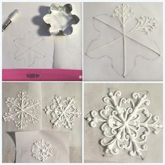 Snow flake tutourial