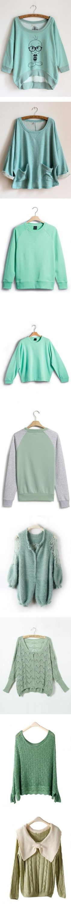 """""""Sweetshirt?Sweater?which one you like best?"""" by udobuy on Polyvore"""