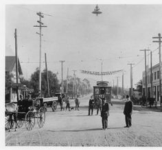 Broadway and Brand Avenue with the Glendale and Eagle Rock Railway visible, 1911. In 1910-11, the city of Tropico petitioned to annex themselves to Los Angeles. However, the petition lacked the required signatures of one-fifth of the registered voters. The annexation was finally successful in 1918, with the upper half of Tropico voting to go with Glendale and the lower half voting to go with Los Angeles. Glendale Central Public Library. San Fernando Valley History Digital Library.