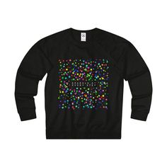 """ Sparkle"" Adult Unisex French Terry Crew"