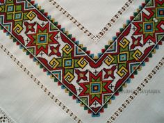 Discover thousands of images about Rushnyk, Ukraine, from Iryna with love Cross Stitch Borders, Cross Stitch Designs, Cross Stitching, Cross Stitch Patterns, Folk Embroidery, Embroidery Patterns Free, Cross Stitch Embroidery, African Crafts, Art N Craft