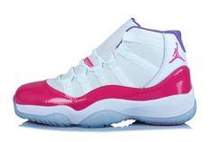 Air Jordan XI/11 Retro GS Custom - Baskets Nike Jordan Chaussure Pas Cher Pour Femme/Fille 378038-ID2