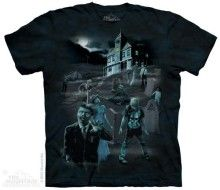 The Mountain Zombies & Ghosts Glowing Adult T-shirt