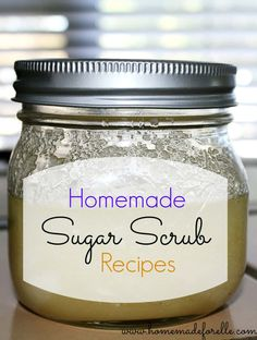 Homemade Sugar Scrub Recipes - Homemadeforelle.com