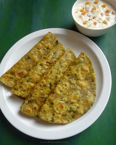 drumstick leaves paratha recipe, murungakkai leaves paratha recipe