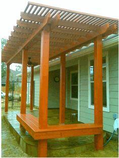 Pergola Benches Designs and Ideas | Pergolas / Gazebo (shared via SlingPic)