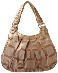 Nine West Vegas Signs Four Pst 00690326Nw Satchel  Color: Khaki Gold Metallic  Product Dimensions: 10 x 15 x 5 inches; 1.8 pounds  Price:$39.94 & FREE Shipping