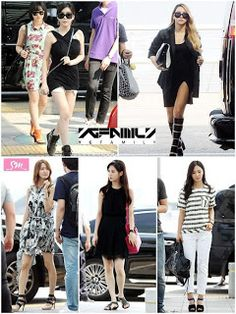 """YG vs. SM """"The obvious difference between their airport fashion"""" ~ Latest K-pop News - K-pop News 