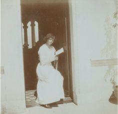 Grand Duchess Tatiana at Livadia: 1914.