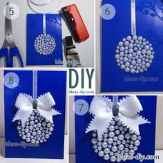 DIY Christmas Card — Ideas-diy.com