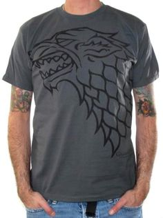 Game Of Thrones, T-Shirt, House Stark $16.18