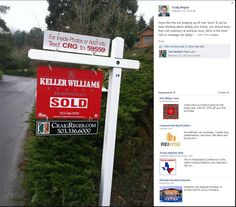 keller williams real estate for sale signs - Google Search