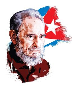 Fidel Castro vector portrait, made in illustrator Martin Luther Jr, Super Pictures, Galaxy Pictures, Political Art, Vector Portrait, Interesting History, Illustrations And Posters, Print Artist, Hd Photos