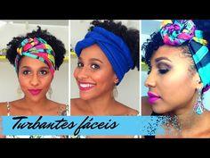 Turbante 2: Trançado de Meia de Seda by Tatiana Karina - YouTube