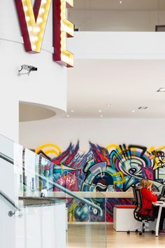 Communication Agency Verve's office. Designed by their Creative Director John O'Shaughnessy