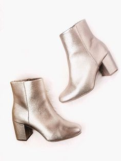 Gold Booties for Winter
