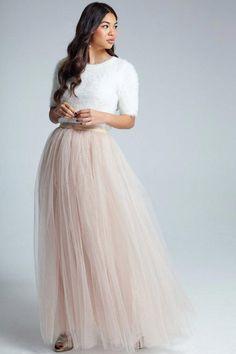 Tulle bridal skirt from Little Mistress
