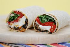 Portobello Mushroom Wraps with Buffalo Mozzarella, Piquillo Peppers and Pimentón Mayonnaise by Viviane Bauquet Farre