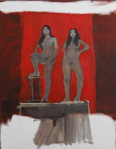 "Saatchi Art Artist Sas Toll; Painting, ""About Sin / Unconsciousness II"" #art"