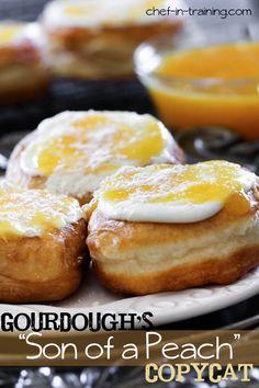 """Son of a Peach"" Donut-Gourdough's Copycat"