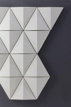 Bits Wall   Abstracta   Anya Sebton. Check it out on Architonic
