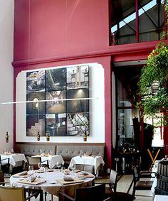 Restaurant etoilé Domaine Riberach, France