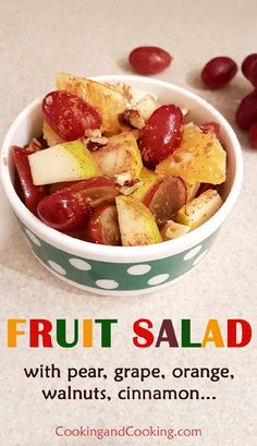 Fall Fruit Salad Recipe